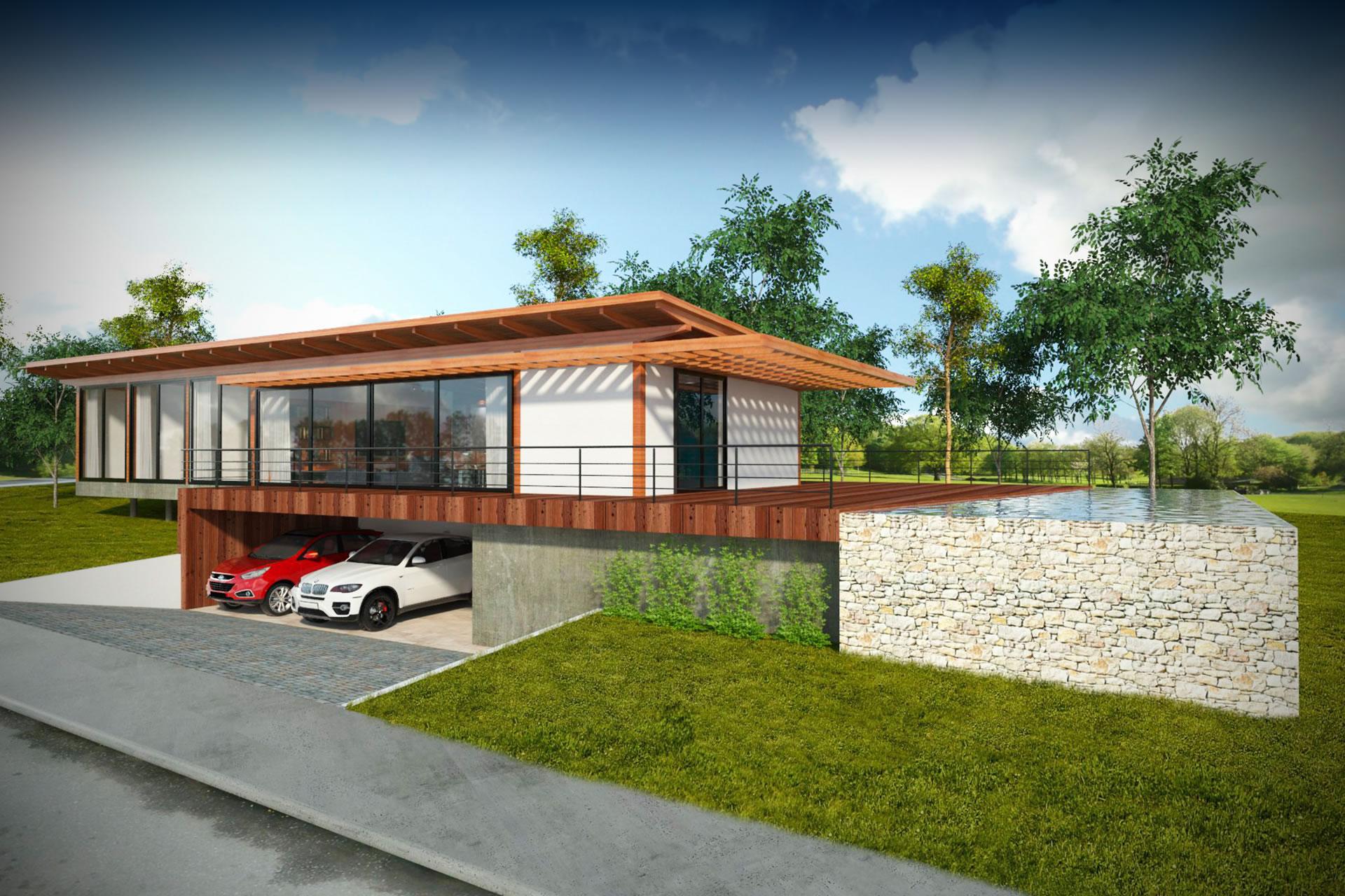 Casa Entre Verdes