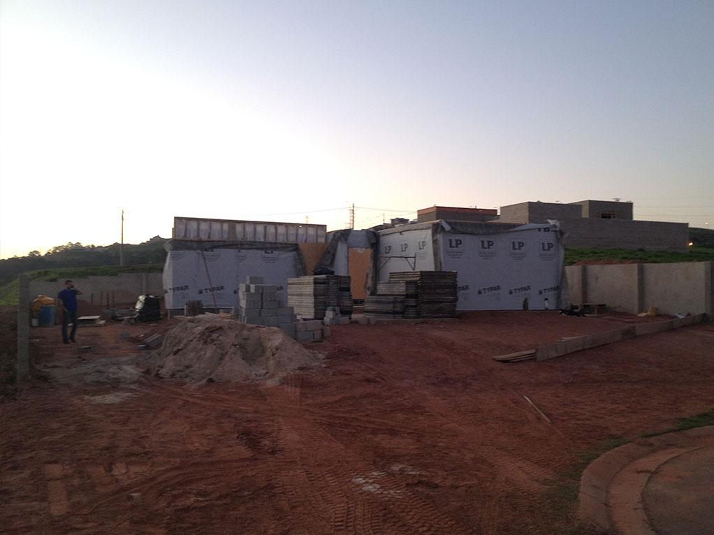 Construção do primeiro andar